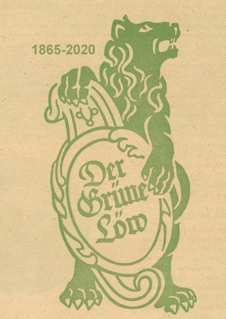 Grüner-Löwe-Wappen